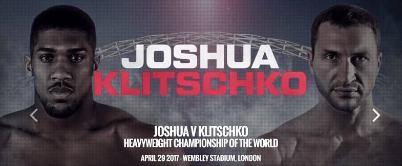 Image result for joshua vs klitschko