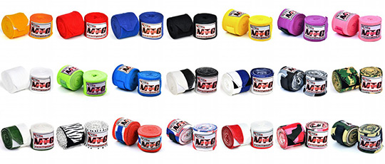 MTG Pro Elasticated Hand Wrap colours