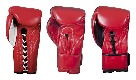Example Lace-Up Gloves, Velcro Gloves and Hybrid Gloves by Cleto Reyes