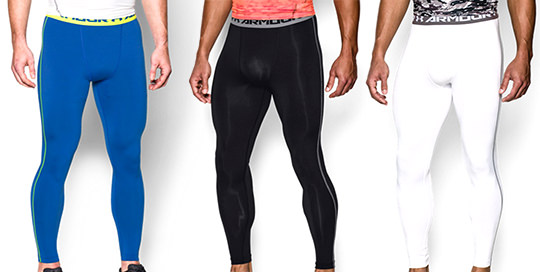 Under Armour Men's HeatGear Compression Leggings