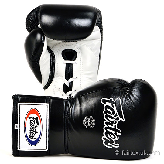 Fairtex BGL3 Pro Lace-up Sparring Gloves