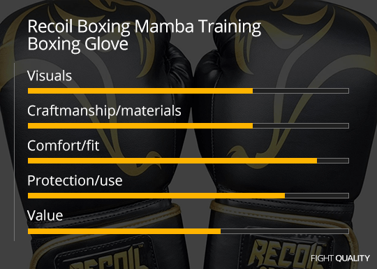 Recoil Boxing Mamba Training Boxing Glove Review