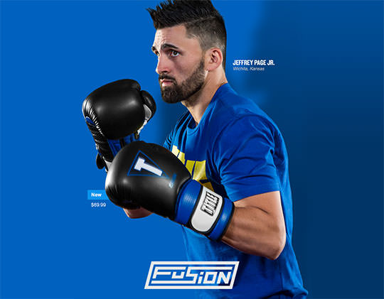 Title Fusion Tech Training Gloves