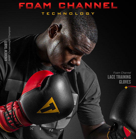Title Foam Channel Technology Boxing Gloves