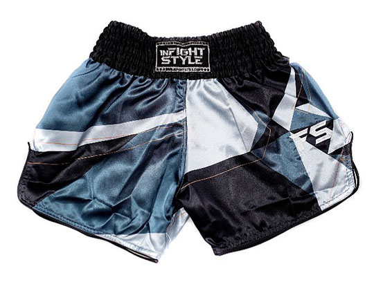 "InFightStyle ""Vector"" Retro Shorts"