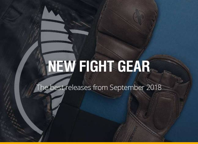 New Fight Gear - September 2018