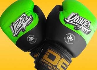 Danger Evolution DT Semi-Leather Sparring/Training Boxing Gloves (16oz) Review
