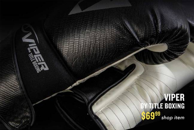 Title VIPER Boxing Gloves