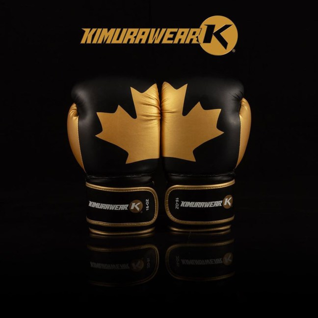 Kimurawear Limited Edition Proudly Canadian Boxing Gloves