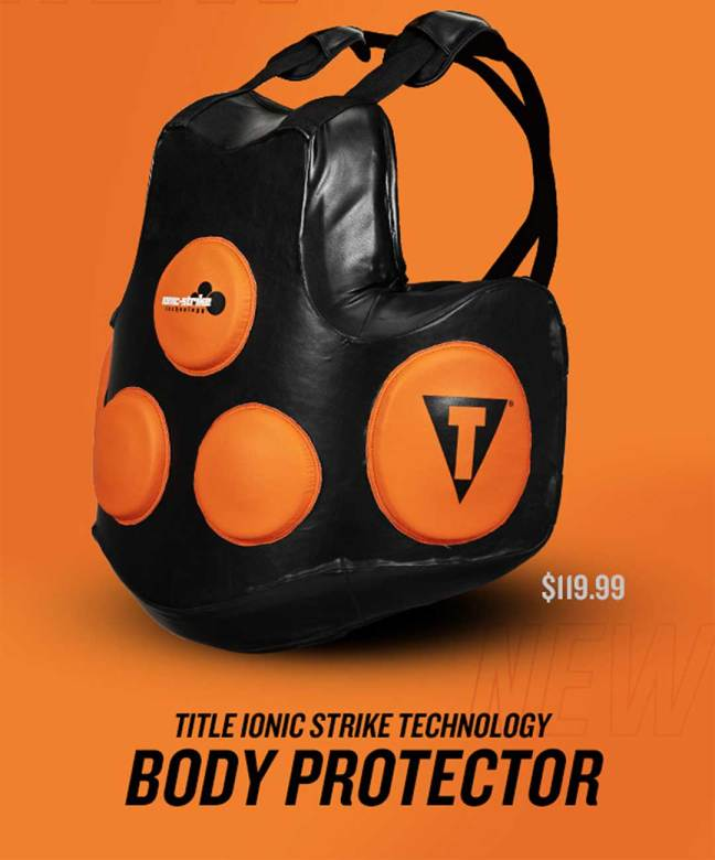 Title Iconic Strike Body Protector