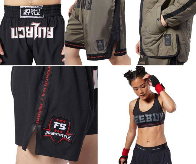 Reebok Combat X InFightStyle Collection