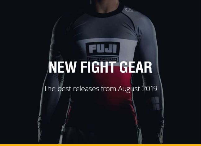 New Fight Gear - August 2019