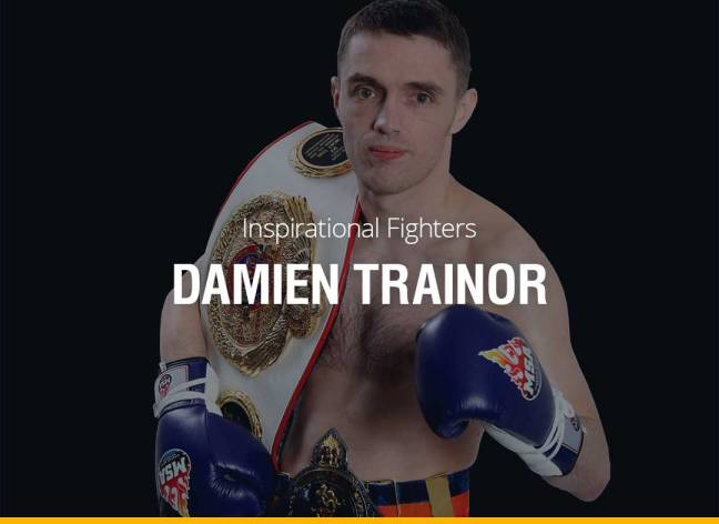Inspirational Fighters - Damien Trainor
