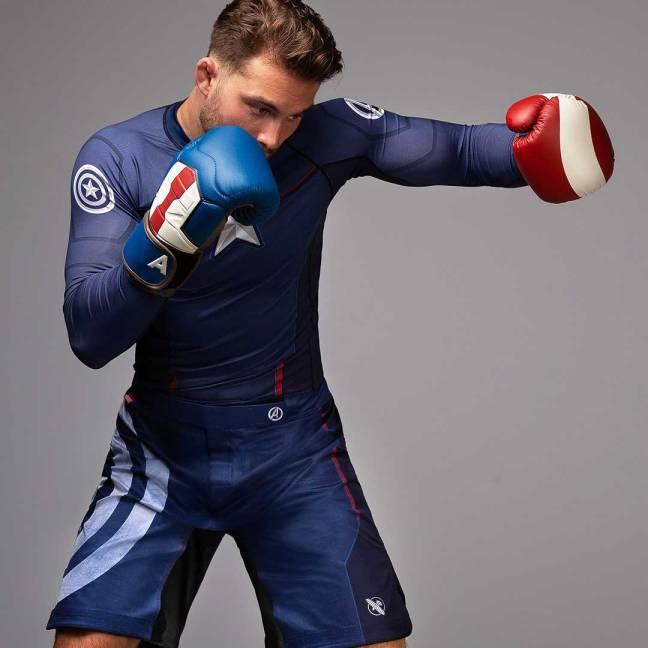 Hayabusa Captain America Collection