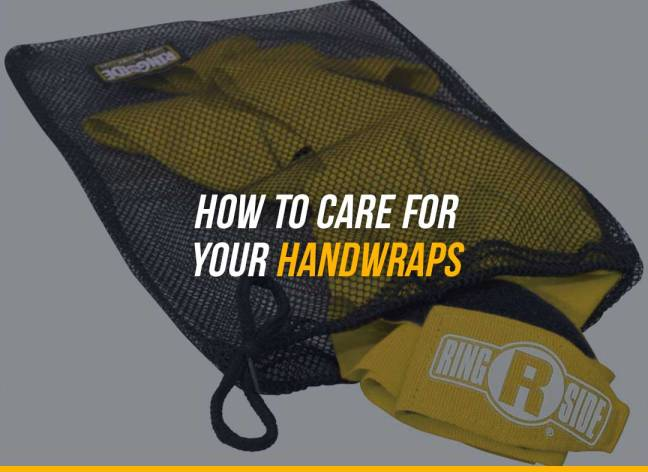 How to Care for your Handwraps
