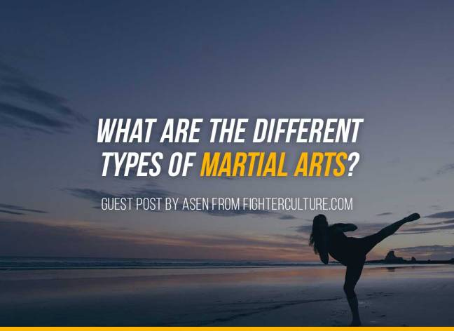 What Are The Different Types Of Martial Arts?