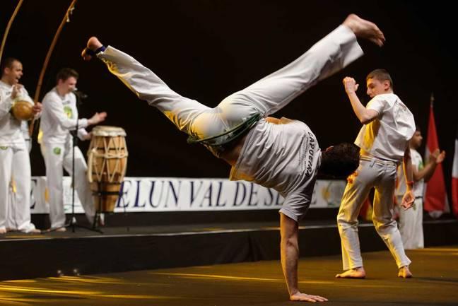 Capoeira show Master de fleuret 2013