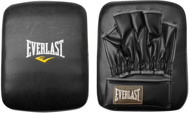 Everlast Punch Kick Mitt Front and Back