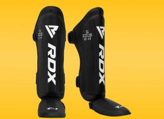 RDX T1 Leather MMA Shin Guards Review