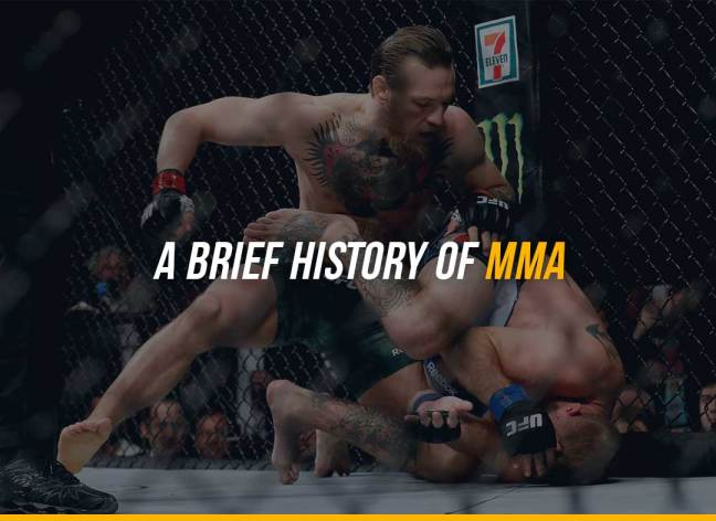 A Brief History of MMA