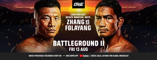 ONE Championship event: Battleground II