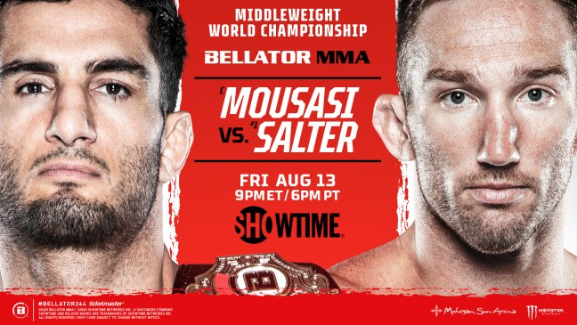 Bellator 264: Gegard Mousasi vs. John Salter