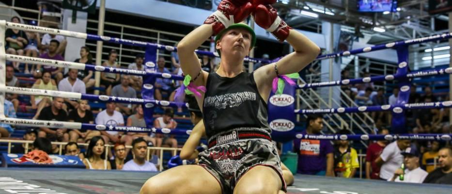 Rhona Walker - Female Muay Thai Fighter