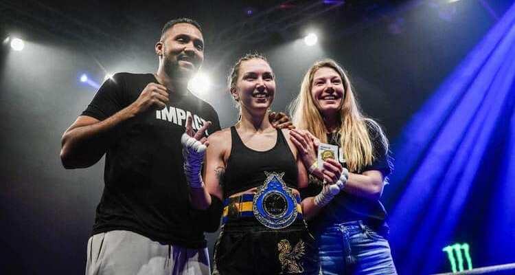 Emma Stonegard - Sweden Muay Thai Championship