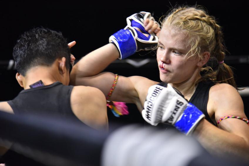 Marie Ruumet - Female Muay Thai Fighter