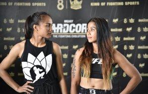 Muay Hardcore Weigh-in - Sawsing vs KC Carlos