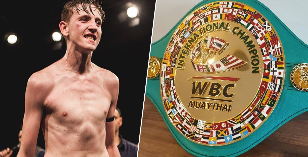 George Mann Hunting WBC Muaythai title at MTGP Australia