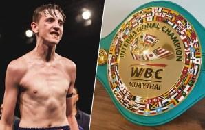 George Mann Hunting WBC Muaythai title at MTGP Australia