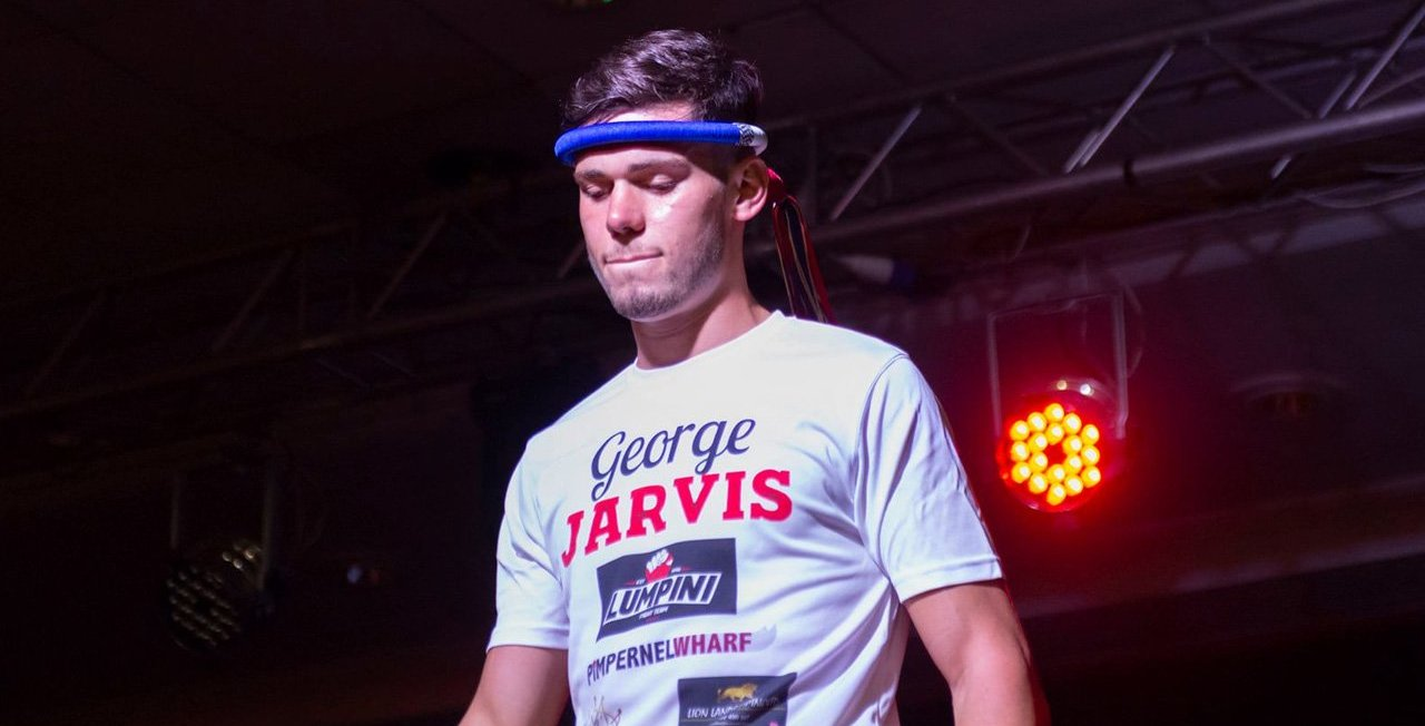What time does George Jarvis fight in Spain this week?