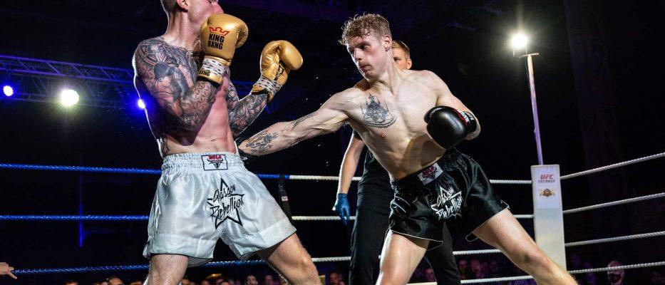 John Wedderburn vs Craig Swan - Lion Fight Glasgow