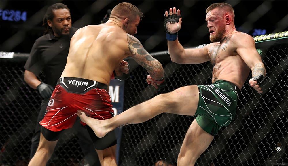 UFC 264 Results: Dustin Poirier vs Conor McGregor (Video)