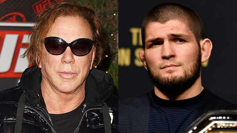"Mickey Rourke: ""Khabib is unique - such are born once in a lifetime"""