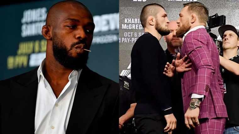 "Jon Jones: ""Regular fans didn't know Khabib before the fight with McGregor"""