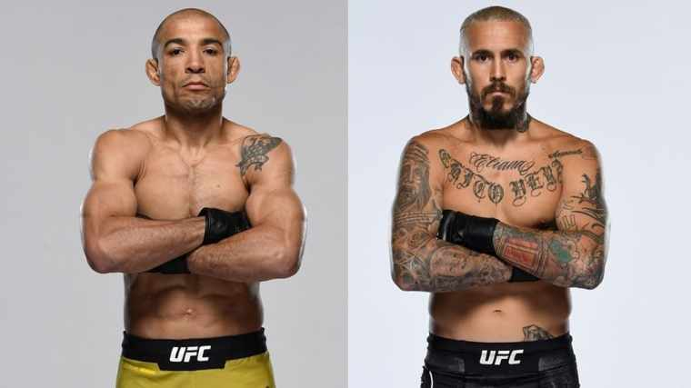The fight between Jose Aldo and Marlon Vera will take place on December 19