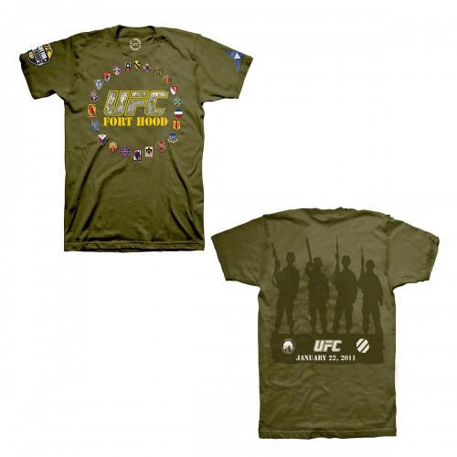 UFC Fight for the Troops T-Shirt