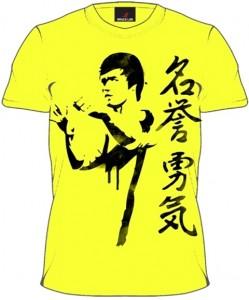 Bruce Lee Black Paint T Shirt 249x300 Bruce Lee T Shirts