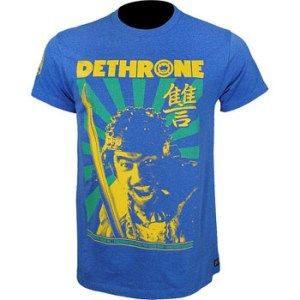 Dethrone Jose Aldo UFC 136 Walkout Shirt front 300x300 Jose Aldo UFC 136 Walkout Shirt by Dethrone Royalty