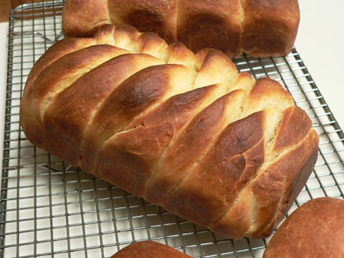 Braided Loaves Part II  Fig Jam and Lime Cordial