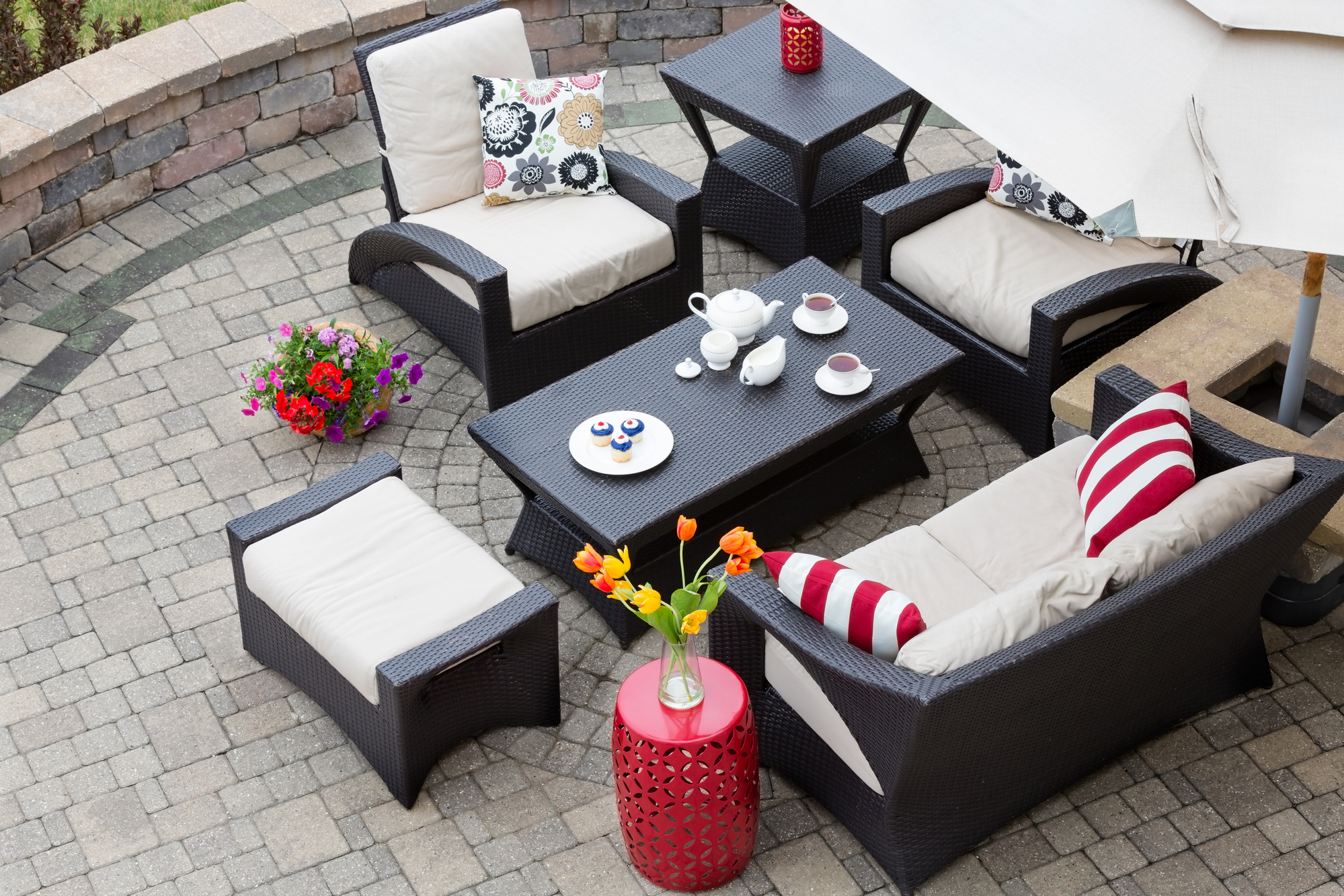 https figleafcushioncovers com replacement cushions vs slipcovers cozy patio furniture on luxury outdoor patio 2