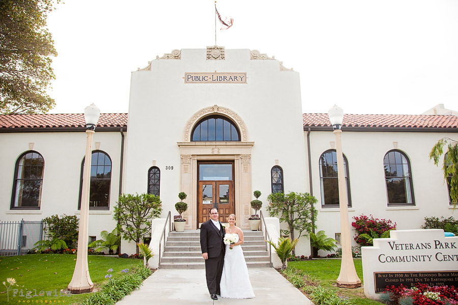 Redondo Beach Historic Library  Lindsey  Chris