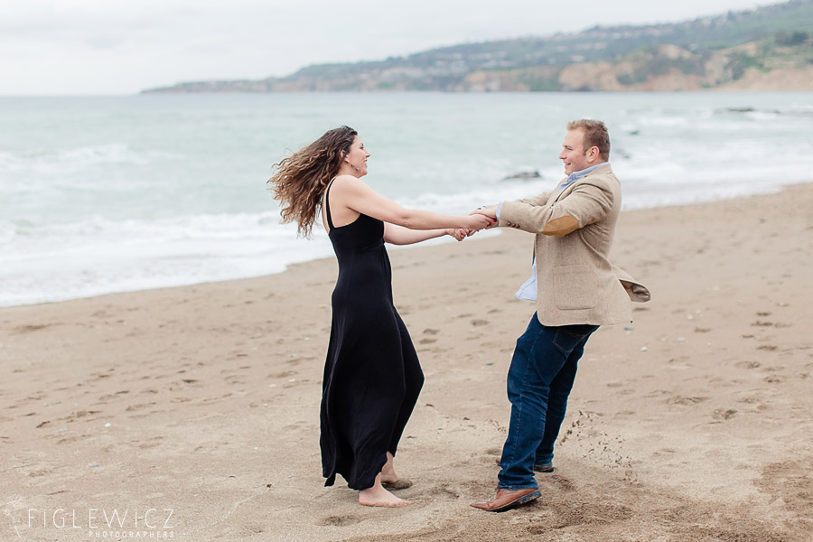 Trump Golf Course Beach Engagement