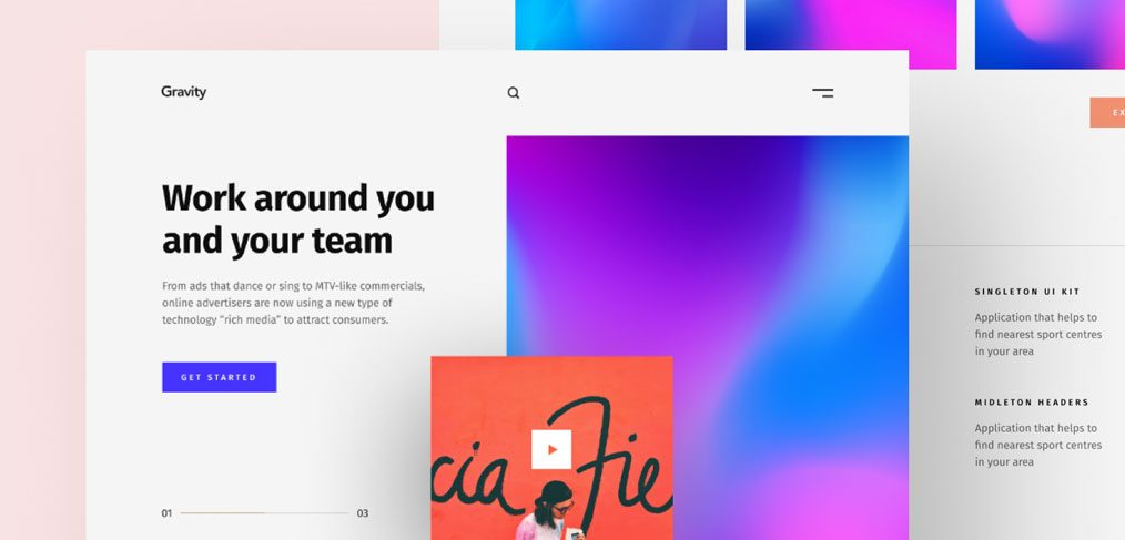 Agency Portfolio Web Template