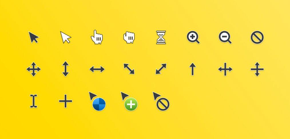 OS X Cursors for Figma