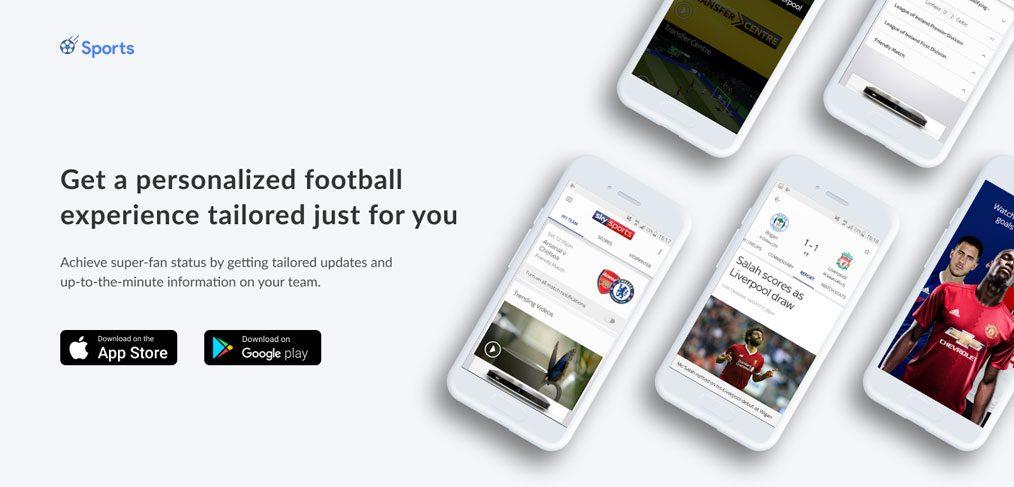 Sports Responsive Landing page