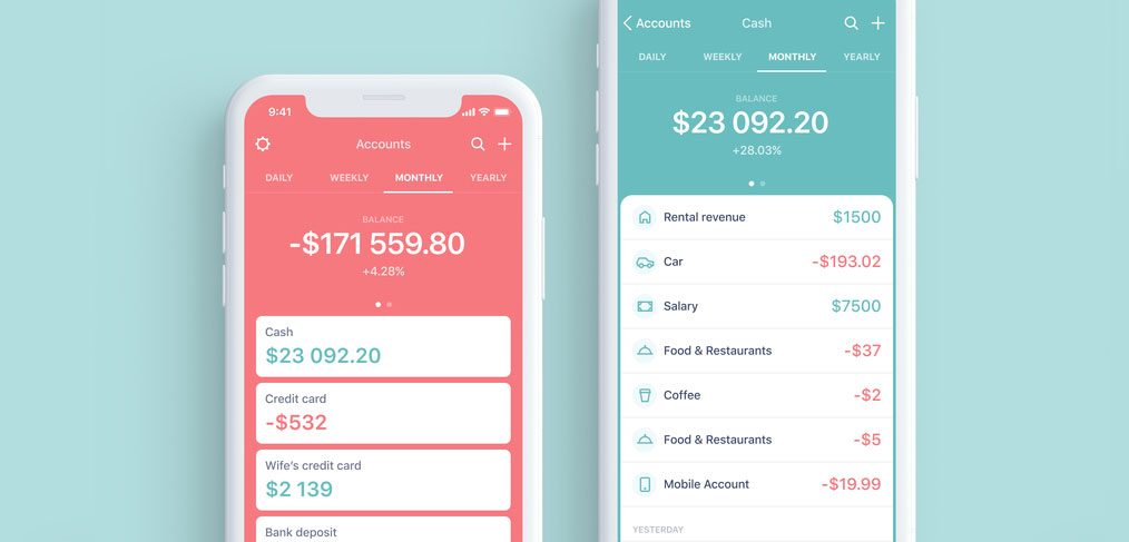 Personal Budget App template