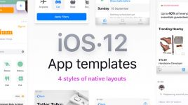 iOS 12 Figma Templates Library